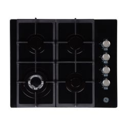 Anafe a gas 60 cm Vidrio Negro GE Appliances - AGGE60GOG