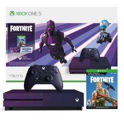 Consola Xbox One S Microsoft 1 TB Fortnite Battle Royale Edición especial