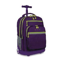 "Mochila Escolar 19"" con Portanotebook J-World NY Sundance Purple"