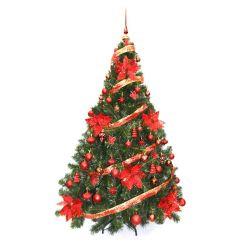 Arbol de Navidad Premium 1 80 Mts con Kit Rojo