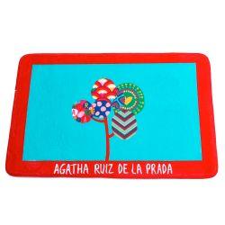 Alfombra De Baño Agatha Ruiz De La Prada Flores