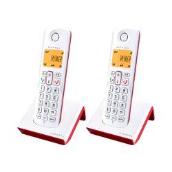 Telefono inalambrico Alcatel S250 DUO DECT