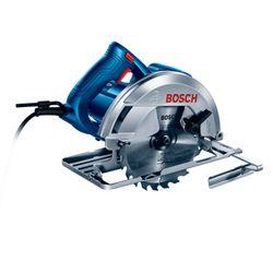 Sierra Circular Bosch GKS 150 1500W 220V con 1 Disco de sierra y Guía paralela, en Caja de cartón