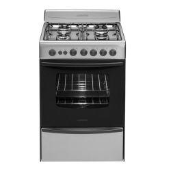 Cocina Multigas Longvie 13501XF Inox 56 CM