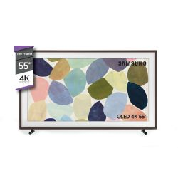 "Smart TV 4K QLED Samsung 55"" The Frame Nogal"