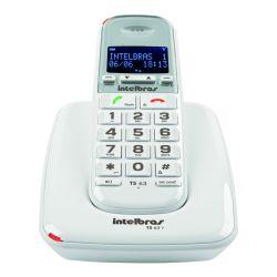 Teléfono Inalámbrico Intelbras TS63 Blanco