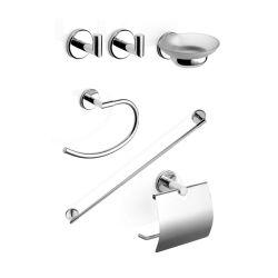 Kit de 6 accesorios de grifería Piazza Dot 70129