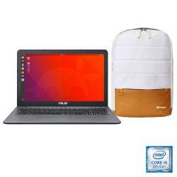 Notebook Asus 15 I5 8250U Con Sistema Operativo Endless 3 con Mochila Mobox de Regalo