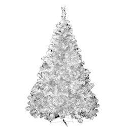 Árbol de Navidad Premium Blanco P Metal 1.80 Mts