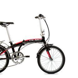 """Bicicleta Plegable Pleggo 20"""" Negro/Rojo Olmo"""
