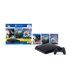 Consola Sony PS4 1TB + Ghost + GOW + Ratchet & Clank