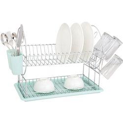 Escurridor de platos Verde agua Carol Linea Soft 1057