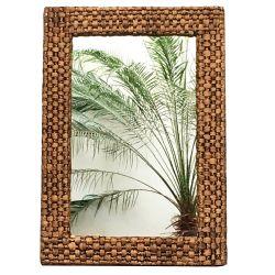 Espejo Rectangular De Hyacinth 56 cm X 90 cm