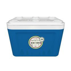 Heladerita conservadora de  Plástico 65 lts Azul