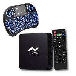 Convertidor Smart Tv Nictom 2Gb Ram más Mini Teclado