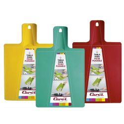 Tabla De Picar Plastico Plegable Carol - Varios Colores x 3 Unidades