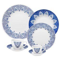 Juego de Vajilla 42 Piezas Oxford Porcelana MILANO 1125960
