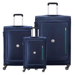 Set de 3 Valijas Delsey Oural Azul