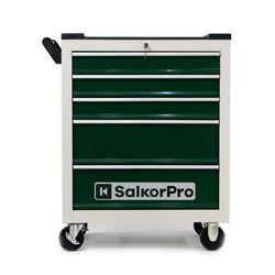 Caja Herramienta Gabinete Porta Carro Taller 5 cajones Salkor