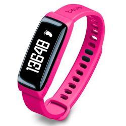 Reloj Beurer As81 Sensor de Actividad y Sueño c/Bluetooth Rosa