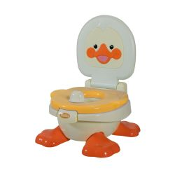 Pelela Bebitos Pato DA 6810 Naranja
