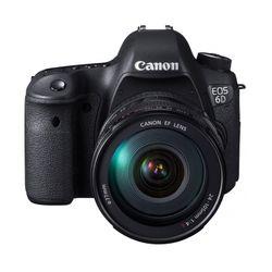 Camara Reflex Canon Rebel EOS 6D Mark II + Lente 24-105 USM