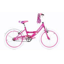 Bicicleta TopMega Niña Rodado 20 Bmx Color Rosa