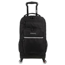 "Mochila Escolar 19"" con Portanotebook J-World NY Moonslider Black"