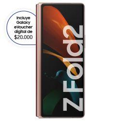 Celular Libre Samsung Galaxy Fold 2 Bronce