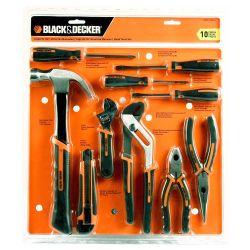 Set de herramientas manuales Black  Decker HDT51-910