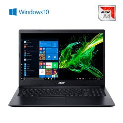 "Notebook 15,6"" AMD A4 4GB 500GB Aspire 3 A315-22-47SL"