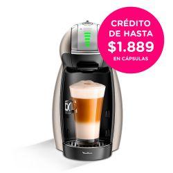 Cafetera Moulinex Dolce Gusto Genio 2 Titanium