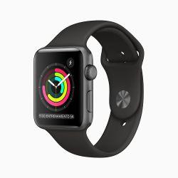 Apple Watch Series 3 42mm Space Grey Black