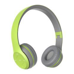 Parlante Bluetooth Havit H2575 BT HEADPHONE Verde y Gris