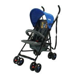 Cochecito de Bebé Bebitos A222 Slim Azul