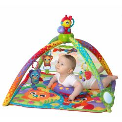 Juguete didáctico Playgro WOODLANDS MUSIC   LIGHTS PROJECTOR GYM