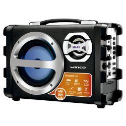 Parlante Portátil Winco W209 Bluetooth Negro