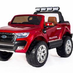 Camioneta a batería Ford Ranger Rojo