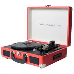 Tocadiscos Vinilo Winco W406 Rojo