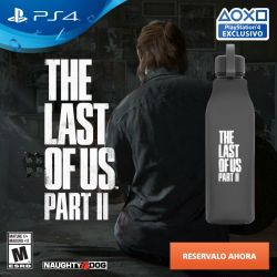 Juego PS4 Sony The Last of Us 2 + Cantimplora