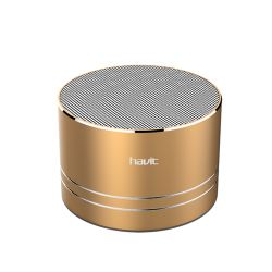 Parlante portátil Bluetooth Speaker Havit Hv-556 Dorado