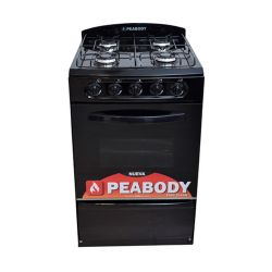 Cocina Peabody Multigas 53 cm de Negro