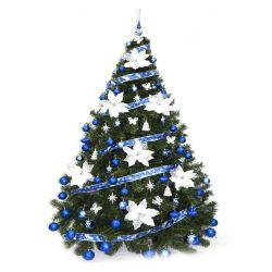Árbol de Navidad Bariloche 1.80 Mts con Adornos Azul