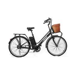 Bicicleta Electrica EcoWinco Classic 25km h Negro