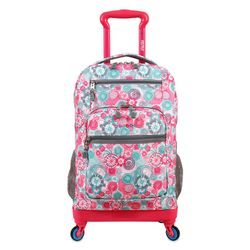 "Mochila Escolar 19"" con Portanotebook J-World NY Moonslider Blue Rasperry"