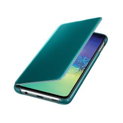 Funda Samsung Clear View Cover S10e Green