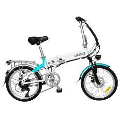 Bicicleta electrica Mobox rodado 20 Blanca