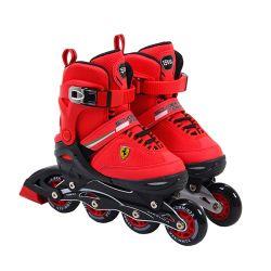 Rollers Para Niños Ferrari FK16 Rojo Talle 38-41 Extensible