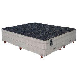 Sommier y Colchón de Resortes Springwall MCB115 200x200cm c/Euro Pillow