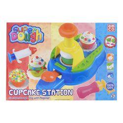 Juego de Masa Super Dough Cupcake Station 6108